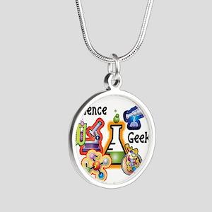 science geek Necklaces