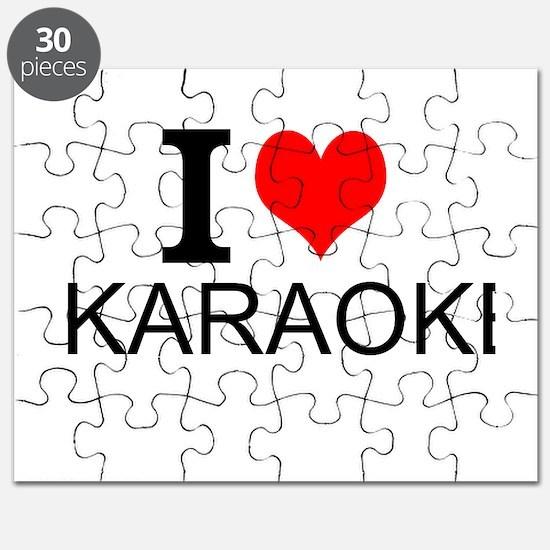 I Love Karaoke Puzzle