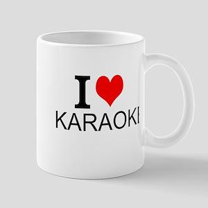 I Love Karaoke Mugs