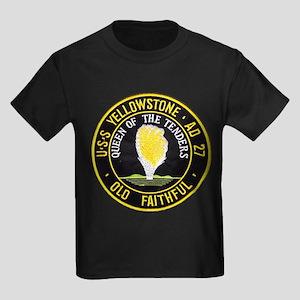 USS YELLOWSTONE Kids Dark T-Shirt