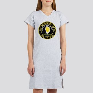 uss yellowstone ad 27 patch Women's Nightshirt