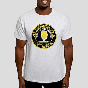 uss yellowstone ad 27 patch Light T-Shirt