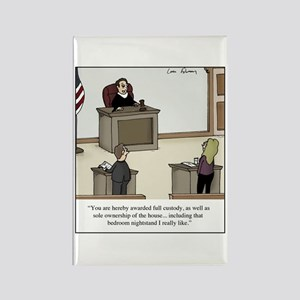 Divorce Court Affair Rectangle Magnet