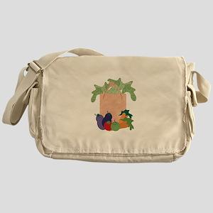 Grocery Bag Messenger Bag
