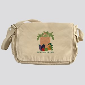 Fresh From The Farm Messenger Bag