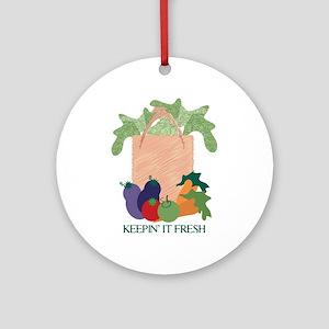 Keepin' It Fresh Ornament (Round)
