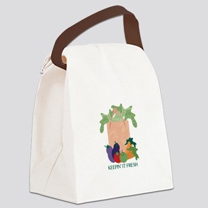 Keepin' It Fresh Canvas Lunch Bag