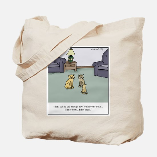 Cats and Laser Pointers Tote Bag