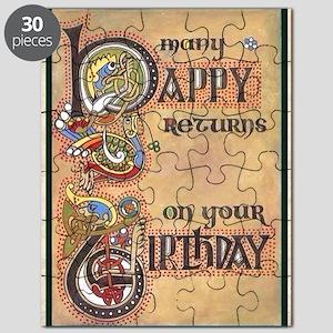Celtic Happy Birthday Puzzle