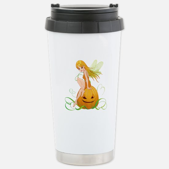 Pumpkin Fairy - Stainless Steel Travel Mug