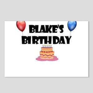 Blake's Birthday Postcards (Package of 8)