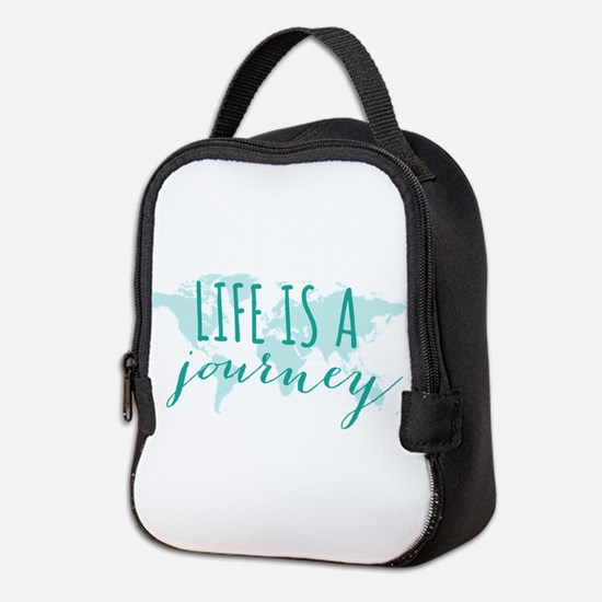 Life is a journey Neoprene Lunch Bag