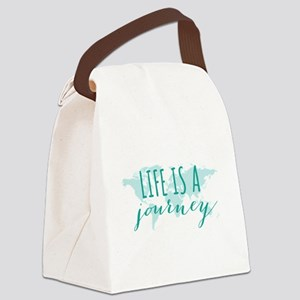 Life is a journey Canvas Lunch Bag