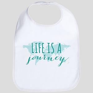 Life is a journey Bib