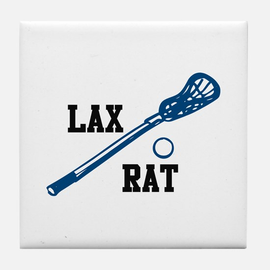 Lax Rat Tile Coaster