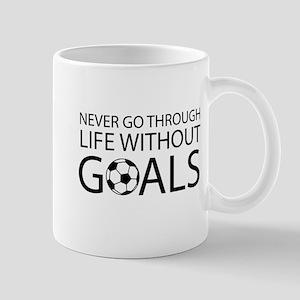 Life goals soccer Mugs