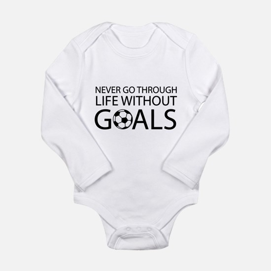 Life goals soccer Body Suit
