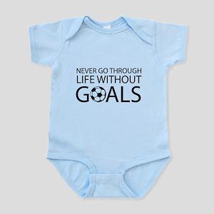 Life goals soccer Body Suit