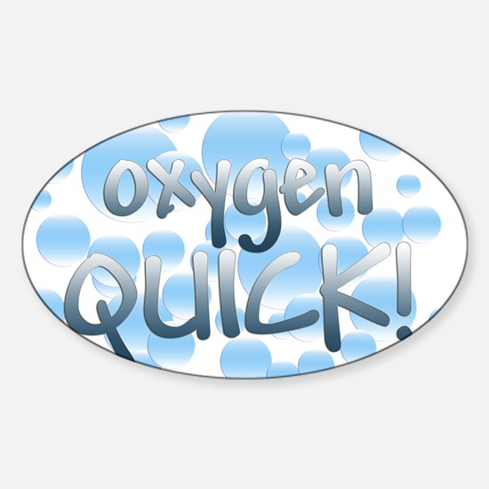 Oxygen Quick Oval Decal