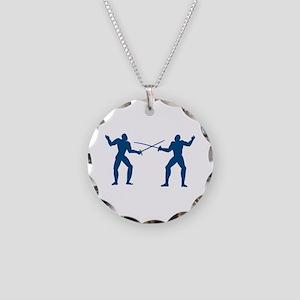 Men Fencing Necklace