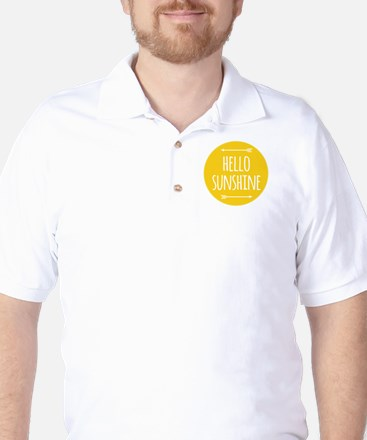 hello sunshine Golf Shirt