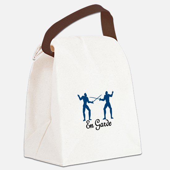 En Garde Canvas Lunch Bag