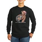 Miss B and Teddy Long Sleeve Dark T-Shirt