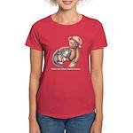 Miss B and Teddy Women's Dark T-Shirt