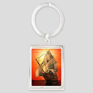 Sail boat Keychains