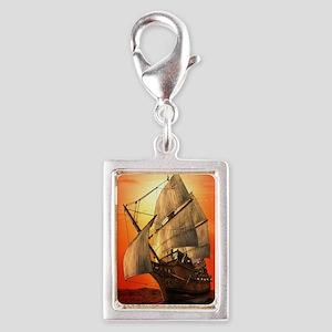 Sail boat Charms
