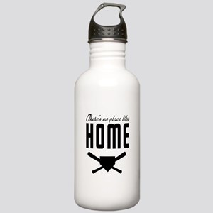 No place like home base Water Bottle