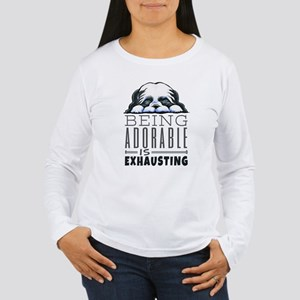 Adorable Shih Tzu Long Sleeve T-Shirt