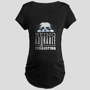 Adorable Shih Tzu Dk Maternity T-Shirt