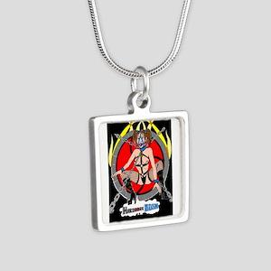 HardCore BDSM Silver Square Necklace