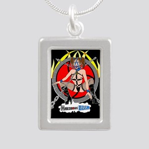 HardCore BDSM Silver Portrait Necklace