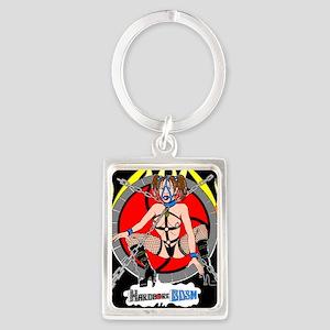 HardCore BDSM Portrait Keychain