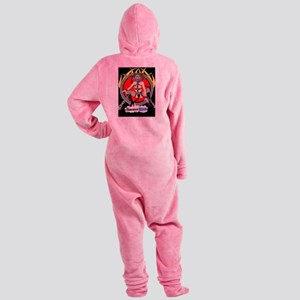 HardCore BDSM Footed Pajamas