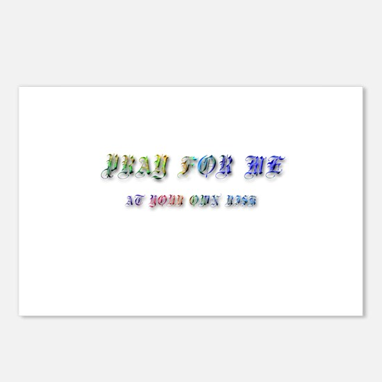 Gothic Rainbow Pray for Me Postcards (Package of