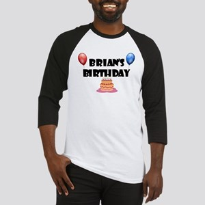 Brian's Birthday Baseball Jersey