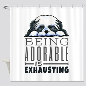 Adorable Shih Tzu Shower Curtain