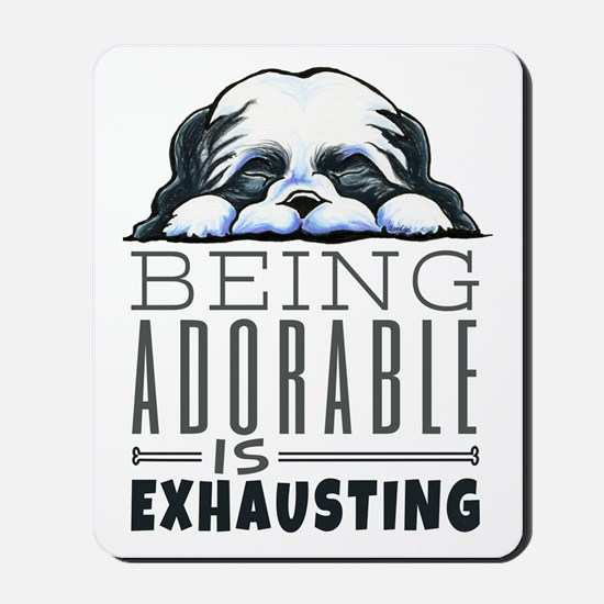 Adorable Shih Tzu Mousepad