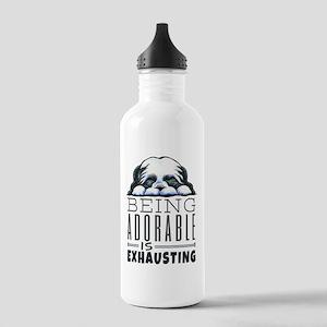 Adorable Shih Tzu Water Bottle