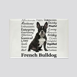 Frenchie Traits Rectangle Magnet