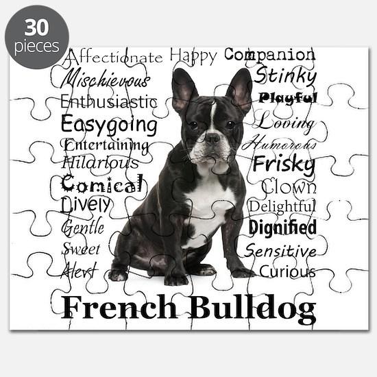 Frenchie Traits Puzzle