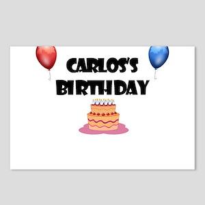 Carlos's Birthday Postcards (Package of 8)