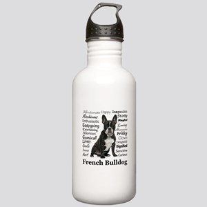 Frenchie Traits Stainless Water Bottle 1.0L