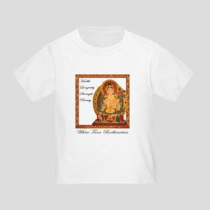 White Tara III Toddler T-Shirt