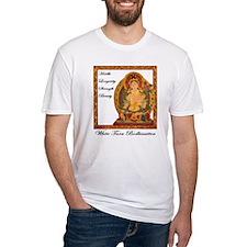 White Tara III Fitted T-Shirt