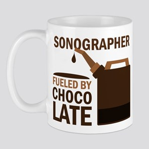 Sonographer Fueled by chocolate Mug