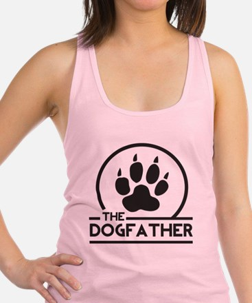The Dogfather Racerback Tank Top